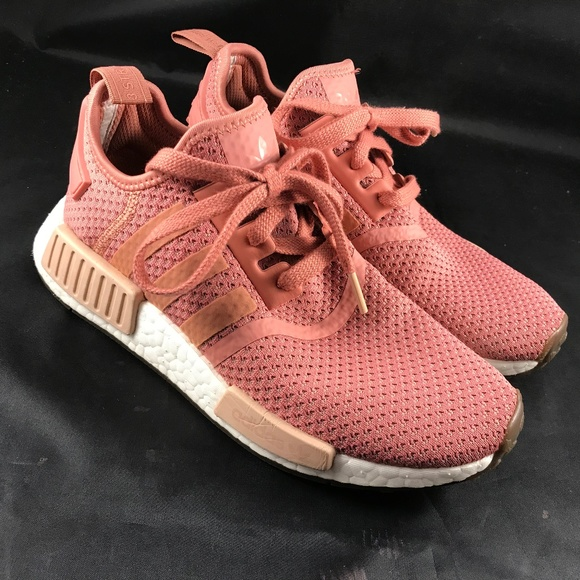 huge selection of 2d9f7 891fa ADIDAS NMD RAW PINK US 7 R1 GS WOMENS AP9972